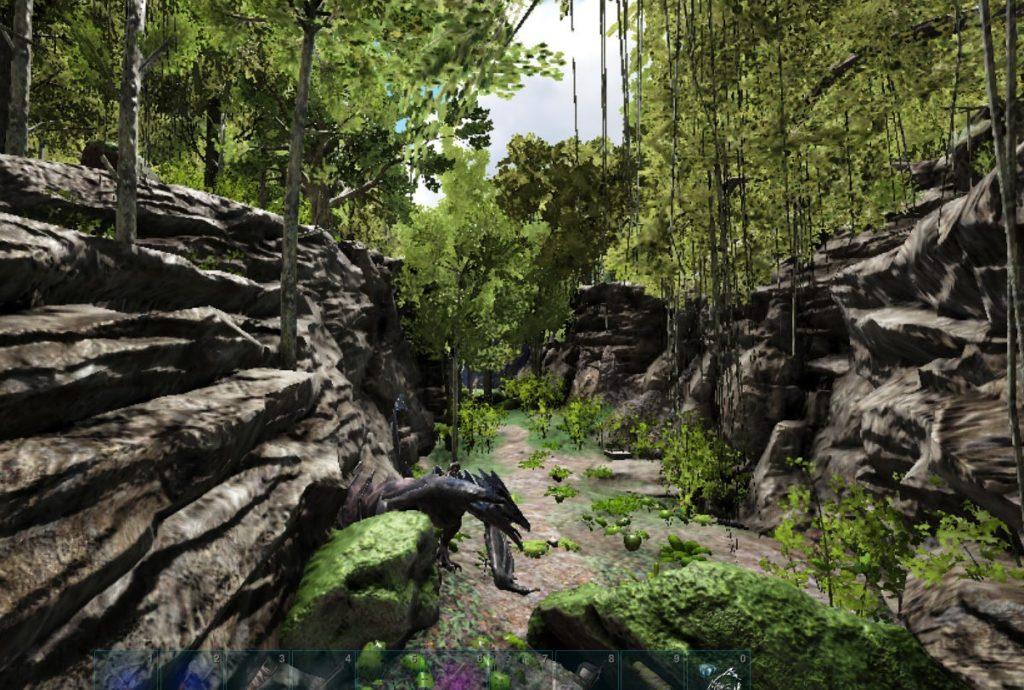 狩人の洞窟の場所