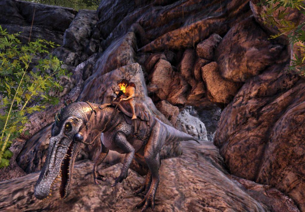 狩人の洞窟入口