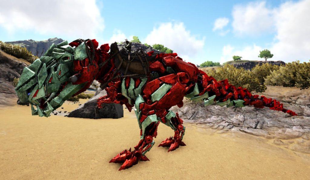 赤TEKティラノサウルス