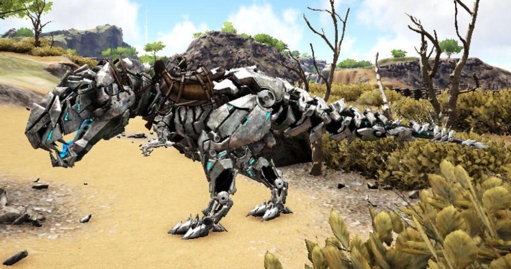 白TEKティラノサウルス
