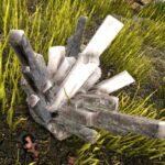 水晶のオブジェクト