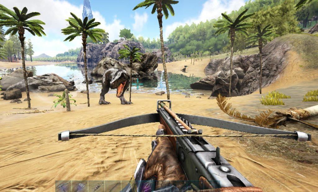 ティラノサウルスの咆哮