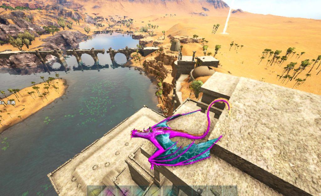砂漠の文明跡