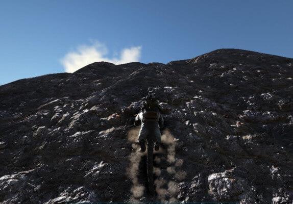 ティラコレオの壁登り
