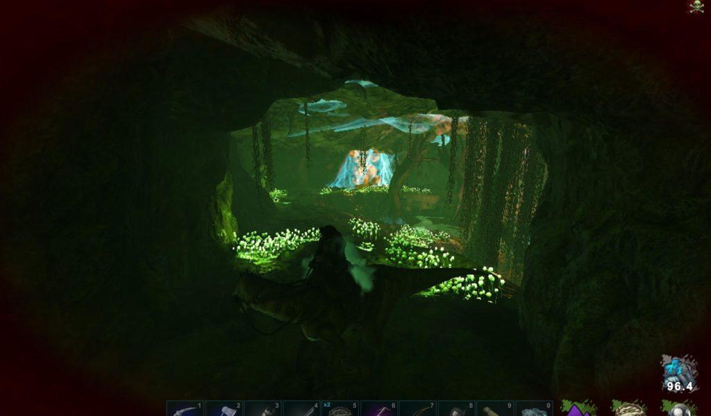免疫の洞窟内