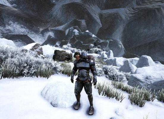 強者の洞窟入口