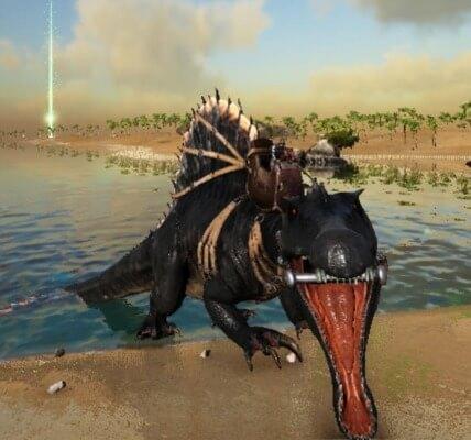 スピノサウルスの咆哮