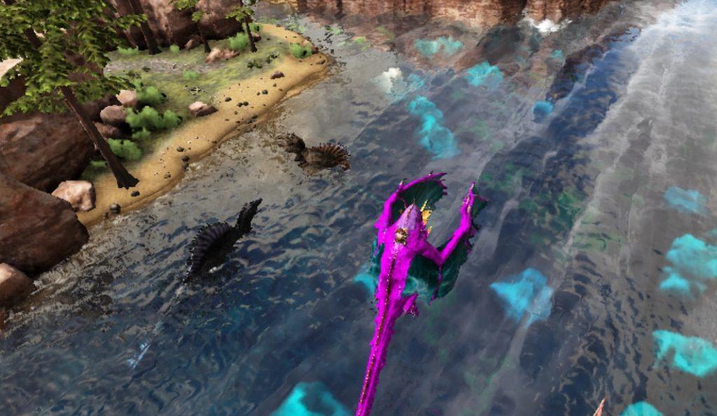 ラグナロクのスピノサウルスの生息場所