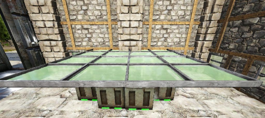 温室の天井