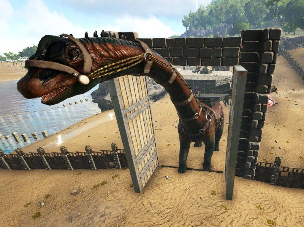 ブロントサウルスの巨体