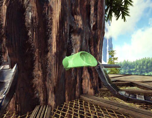 樹液の蛇口設置