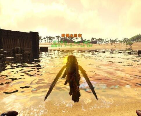 イクチオルニスで黄金の魚を狩猟
