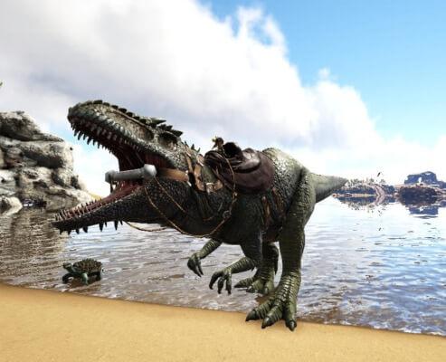 ギガノトサウルスの咆哮