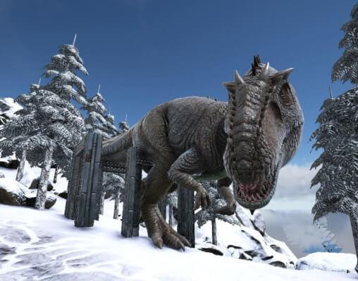 ギガノトサウルス捕獲成功