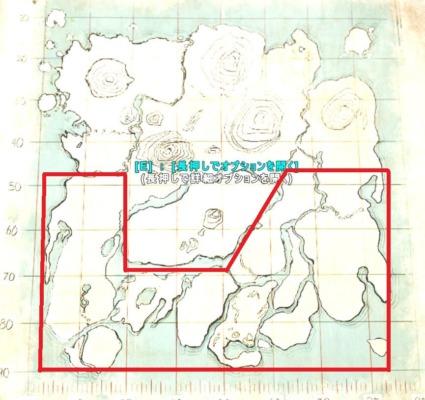 アイランドのリストロサウルスの生息場所