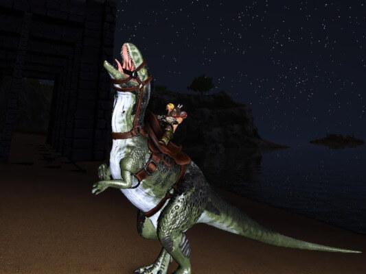メガロサウルスの咆哮