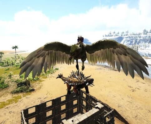 アンキロサウルスの運搬