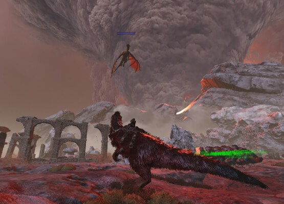 ガンマのドラゴン戦開始