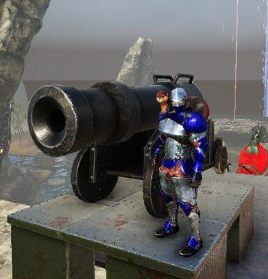 大砲の使い方