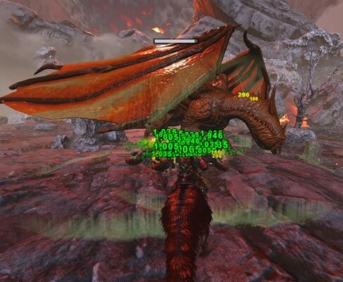 ドラゴン殴り開始