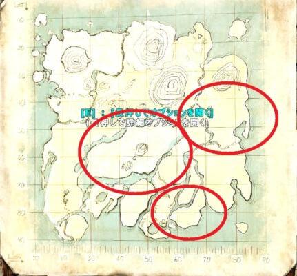 アイランドのティタノボアの生息場所