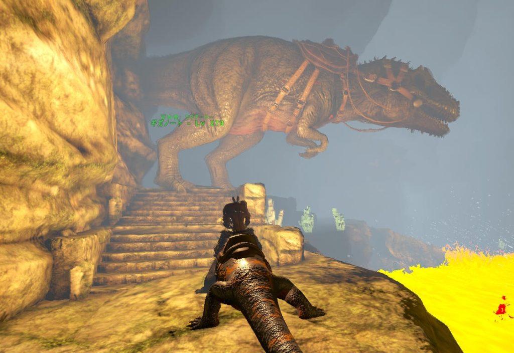 ラヴァゴーレム用のギガノトサウルス
