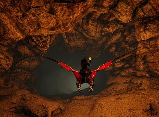 暗闇洞窟の入口