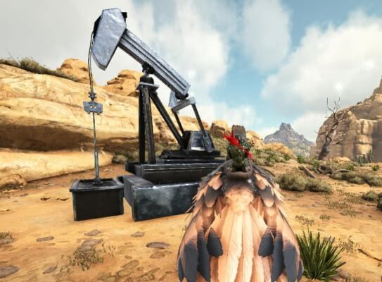 原油ポンプ