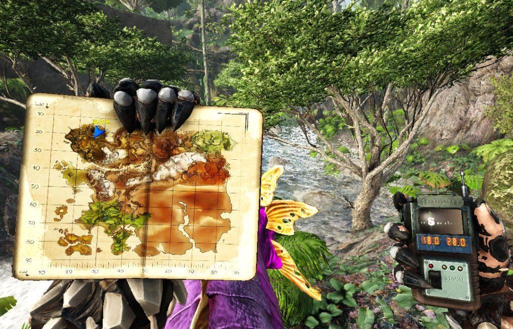 ラグナロクのジャングル洞窟の場所