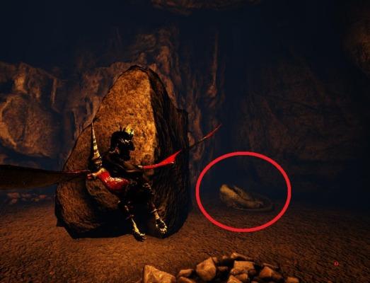 暗闇洞窟のメガロサウルス