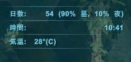 日中90%