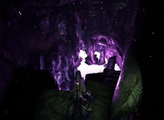 追跡者の洞窟の入口