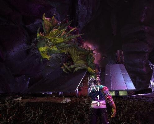 妊娠攻撃前の紫のモヤ