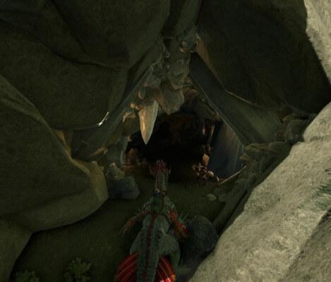 堕落の洞窟入口