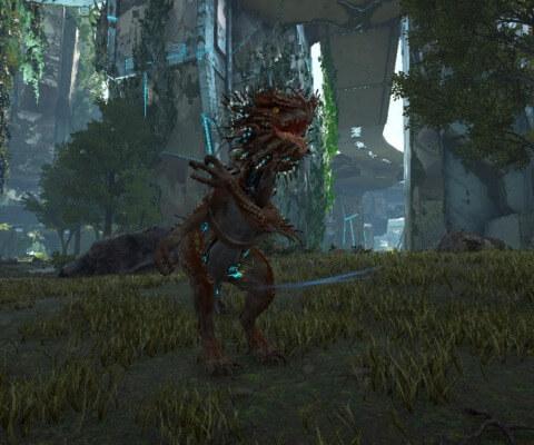 ベロナサウルスの通常攻撃