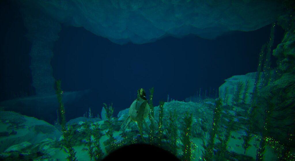バルゲロの深海エリア