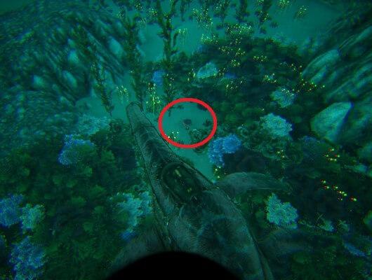39.8 29.8の深海クレート