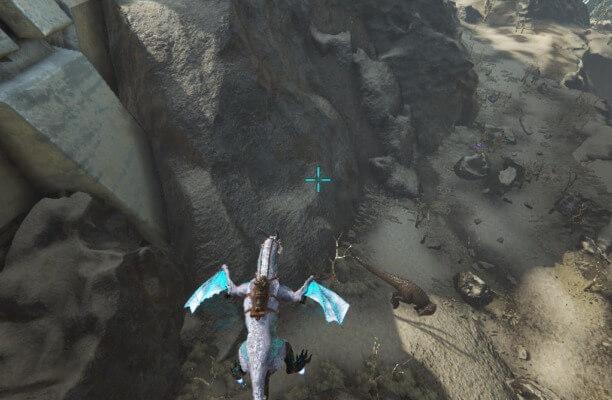 エクスティンクションのギガノトサウルス