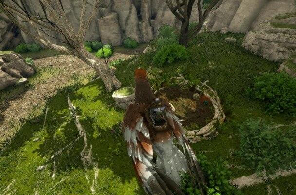 デイノニクスの巣の場所