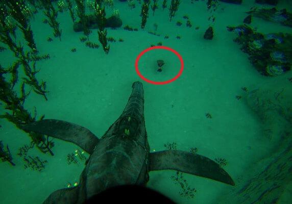 36.2 18.6の深海クレート