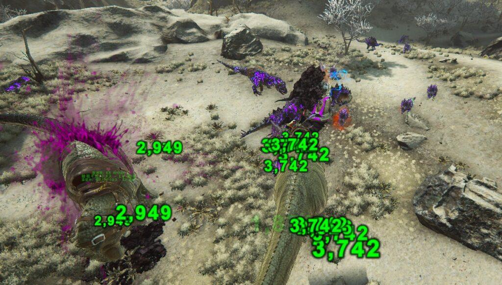 紫OSD防衛戦の様子
