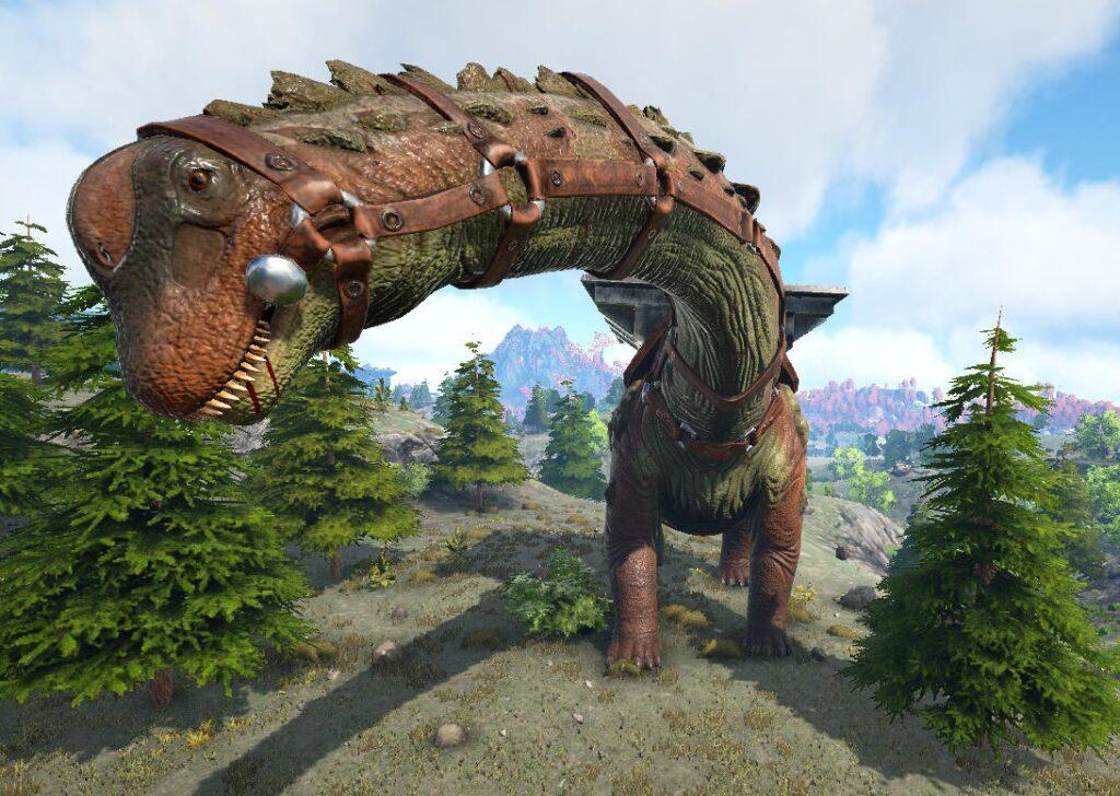 ティタノサウルスの食料値が回復しない
