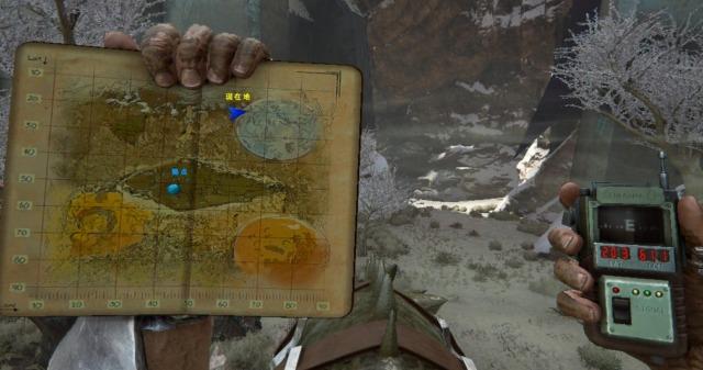 エクスティンクションの雪原洞窟の座標