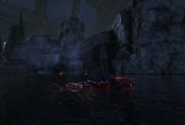 水中のシャドウメイン