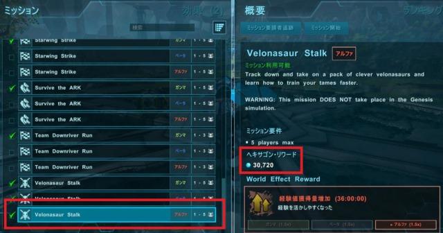 Velonasaur Stalk攻略