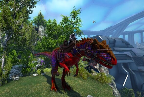 Rアロサウルス